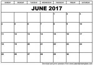 printable free june calendar printable calendar events printable calendar 2017
