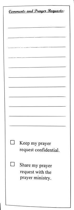 prayer request form template clipart prayer request form