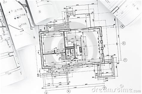 technical floor plan architectural plan drawings stock photo image 39324552