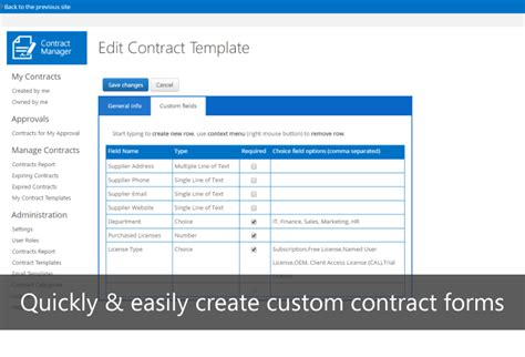 Ivero Net Contract Manager Sharepoint Contract Management Template