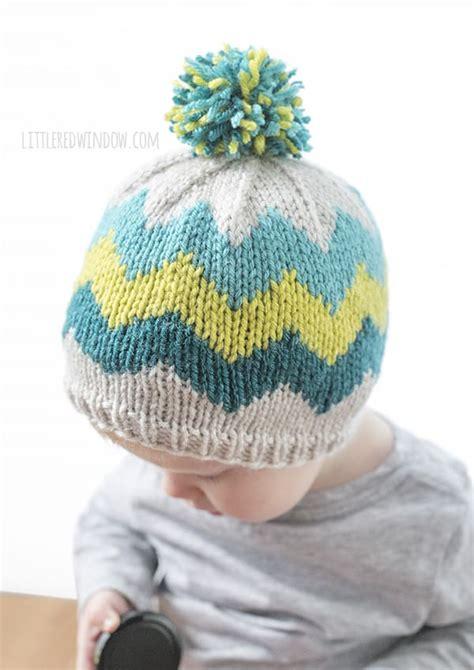 zig zag hat knitting pattern fair isle zig zag chevron hat knitting pattern little