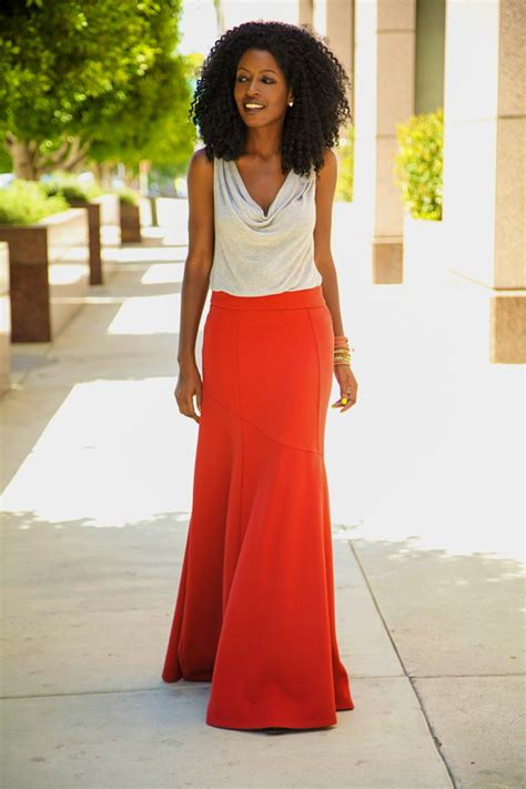style pantry mermaid maxi skirt