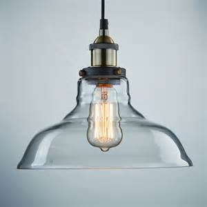 Edison Island Light Vintage Industrial Edison Pendant Light E27 Copper Base Glass Lshade Loft Coffee Bar L