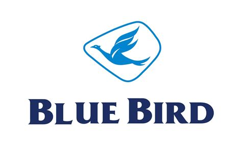 companies with blue bird logo