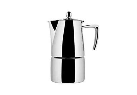 kaffeemaschine 2 tassen test ilsa espressokanne 2 tassen gl 228 nzende optik