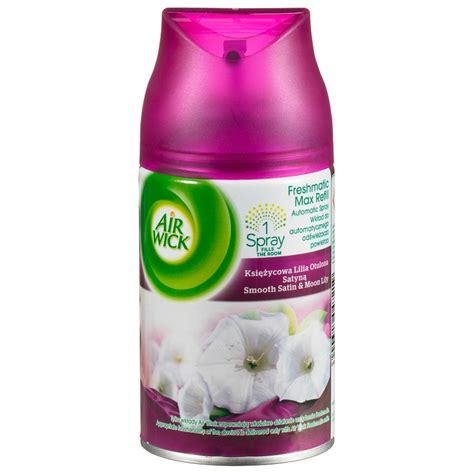 air wick refills air wick freshmatic max refill spray smooth satin 250ml