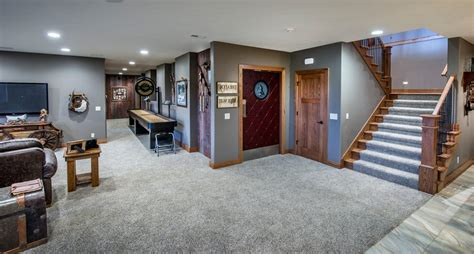 basement color schemes basement color schemes basement traditional with room