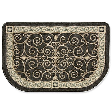 Bed Bath And Beyond Kitchen Rugs Bacova Eastly Midnight 22 Inch X 35 Inch Kitchen Rug Bed Bath Beyond