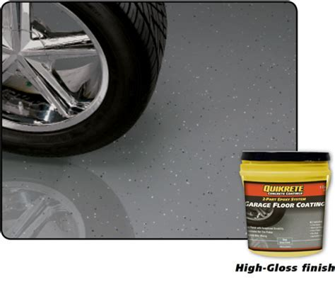 Garage Floor Coating   QUIKRETE: Cement and Concrete Products