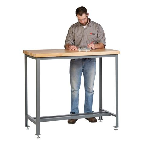 counter height work table wt1 3072 ll 42 steel counter height work
