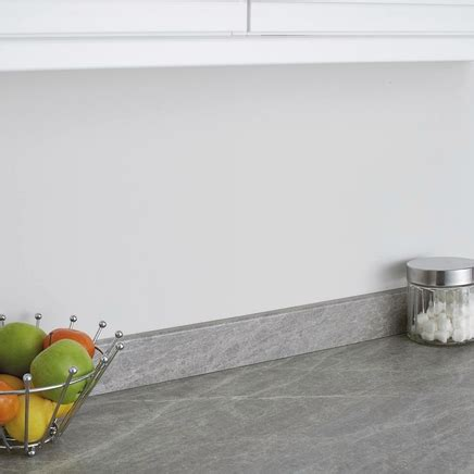 Grey Slate Effect Upstand   Howdens Joinery