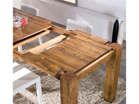 tavolo fai da te allungabile tavolo allungabile mira in legno