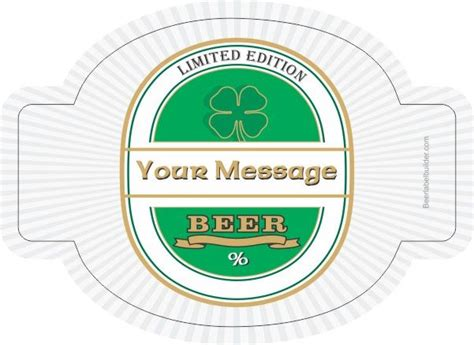 home brew labels template brew label template diy labels