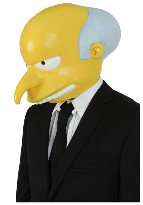 New Home Decorations by Mr Burns Mask