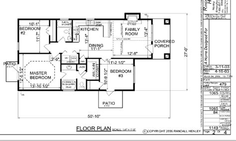 Single Floor Home Plans by Small One Story House Plans Simple One Story House Floor