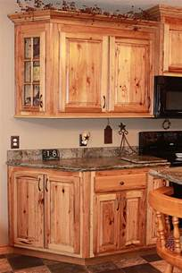 Cabinet Pictures by The Cabinets Plus Rustic Hickory Kitchen Cabinets