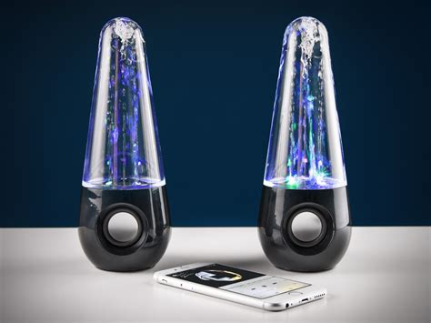 bluetooth water light speakers bluetooth water dancing speakers coolstuff com