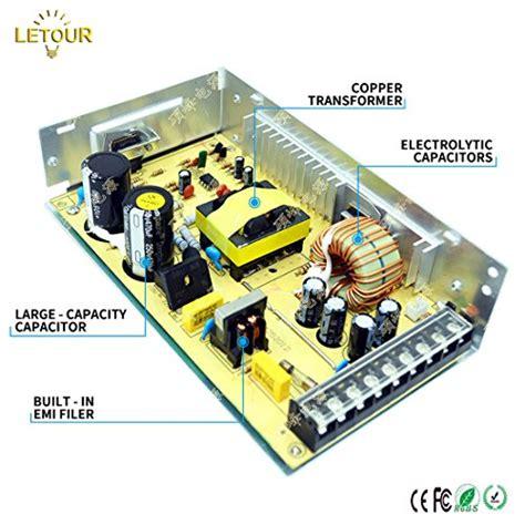 Power Suplay 12volt 20a letour dc 12v power supply 20a 250w ac 110v 220v converter dc 12volt 20 250watts adapter led