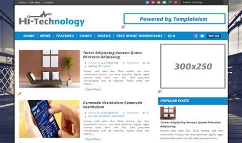 blogger tech themes top 7 seo friendly blogger templates list of best