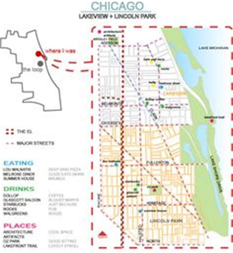 chicago map lakeview 1000 images about chicago list to do and see on