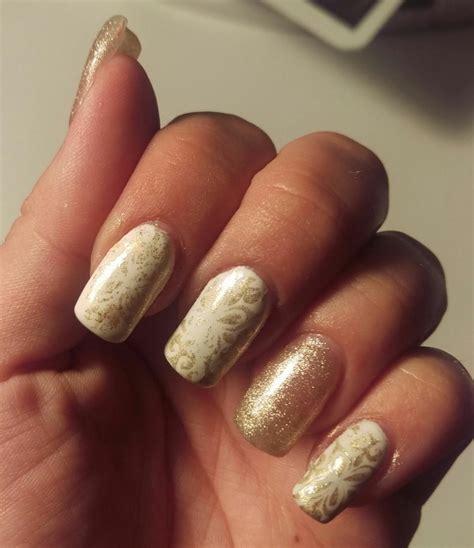 Fingern Gel Schwarz Wei 4488 by Nageldesign Gold Nageldesign Wei Gold 1000 Bilder Zu N