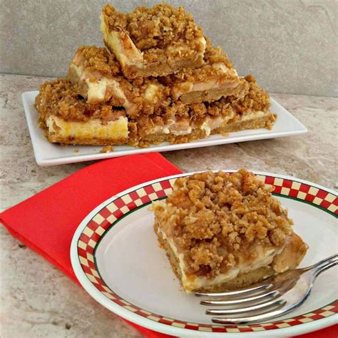 cheesecake topping bar apple cheesecake bars with caramel topping recipes just 4u