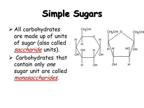 6 simple carbohydrates biochemistry the chemistry of presentation biology