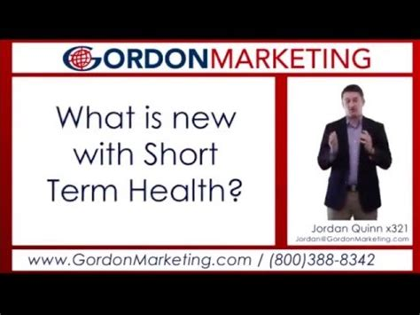 short term health insurance options  jordan quinn
