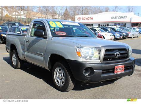2008 Toyota Tacoma Single Cab 2008 Silver Streak Mica Toyota Tacoma Regular Cab