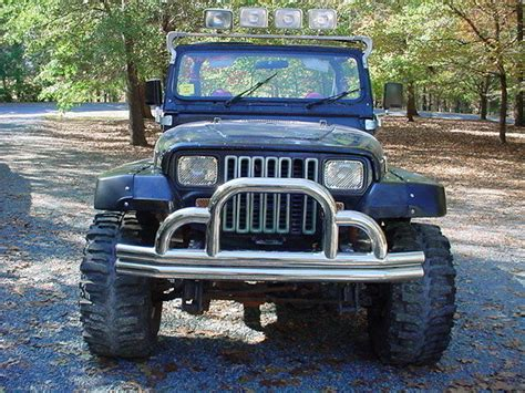 jeep 90s 90 jeep wrangler yj 6cyl 5spd 35 quot swer