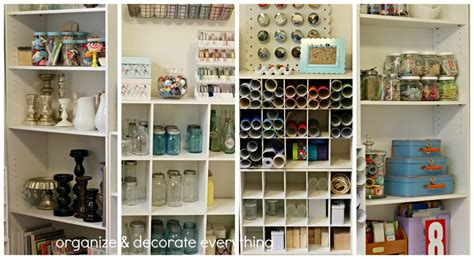 craft room tour organize and decorate everything