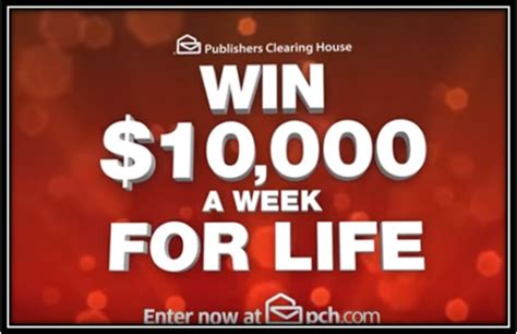 Pch 10000 A Week - the new 10 000 a week for life pch tv commercials are