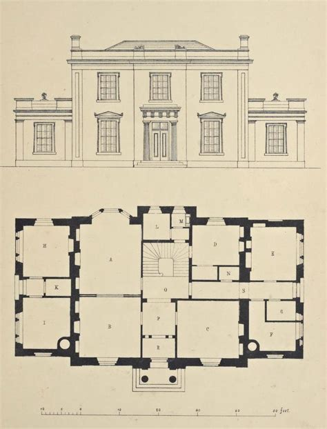 25 Best Ideas About Greek Revival Architecture On Large Vintage House Plans