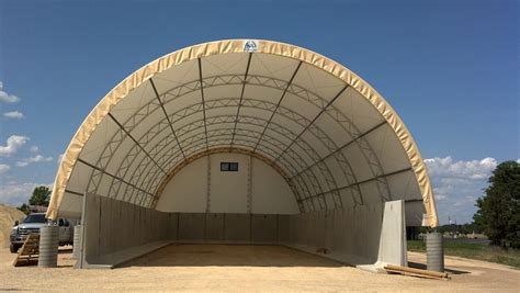 Salt and Sand Storage Building, Hoop Barn, Fabric Building