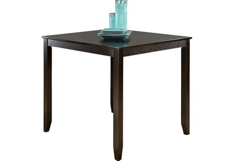 square counter height table sunset view espresso square counter height table dining