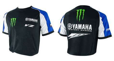 ex team wear motocross mxgp yamaha factory racing