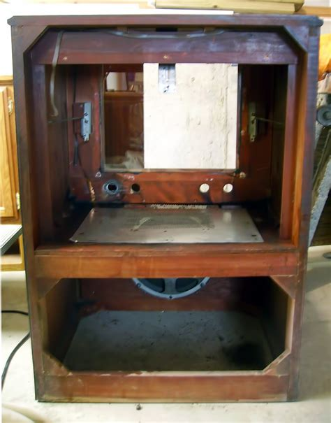 rca victor tv cabinet 1954 rca victor television restoration danmcclelland com