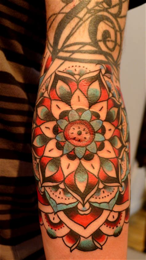 lotus tattoo elbow lotus flower jason corbett