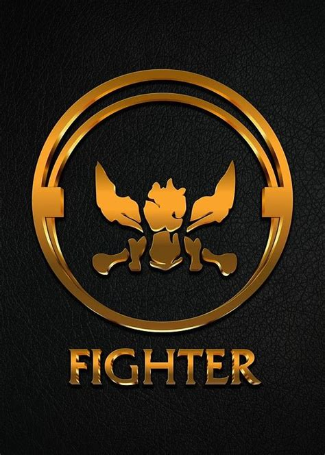 league  legends fighter gold emblem  naumovski