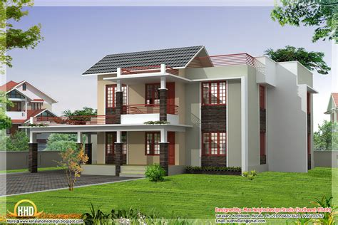 House Designs Indian Style | four india style house designs kerala home design and floor plans