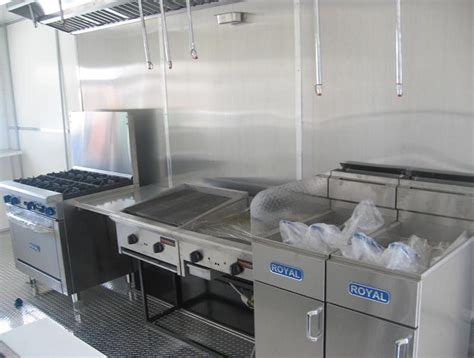 Mobile Kitchen by Mobile Kitchens Of America Standard Equipments