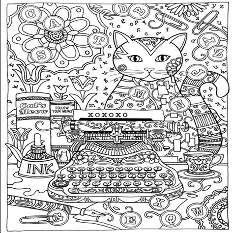 creative anti stress coloring book creative cats colouring book for adults antistress