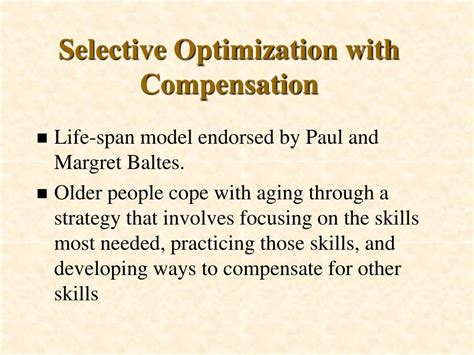 Selective Optimization With Compensation Essay by Ppt Late Adulthood Emotional And Social Development Powerpoint Presentation Id 633216