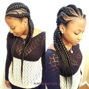 cornrow hairstyle to suit amazing banana braids hairstyles to see now