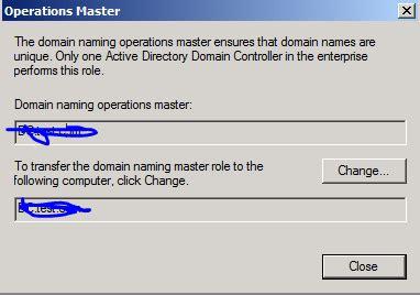 questionhow  view  change active directory domain