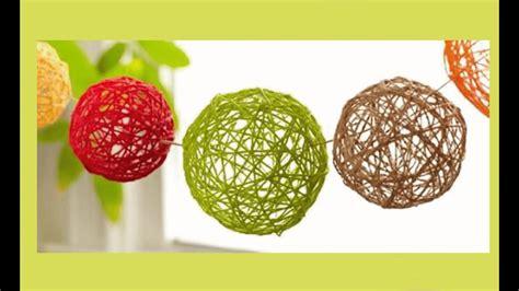 manualidades faciles para casa manualidades f 225 ciles para hacer en casa esferas para
