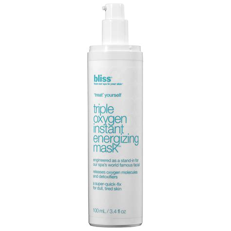 Bliss Oxygen Instant Energizing Mask by What You Should About Oxygen Masks Stylecaster