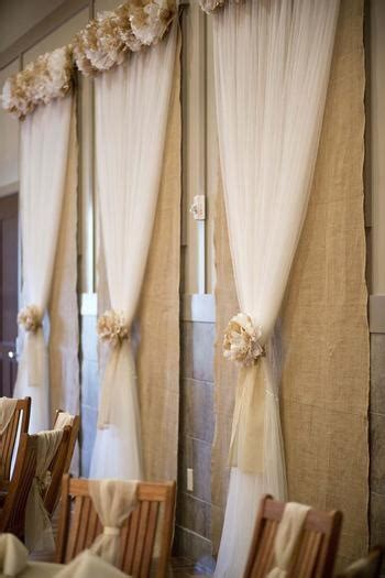 Burlap Backdrop On Pinterest Fabric Backdrop Western
