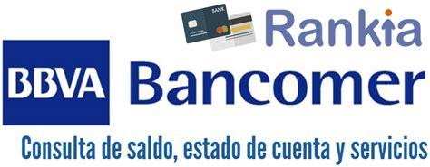 Consulta De Saldo Por Grupo Unico | bbva bancomer consulta de saldo estado de cuenta y