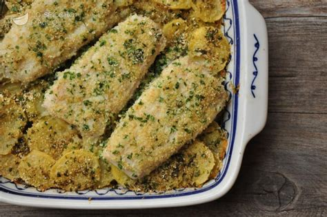 pesce azzurro come cucinarlo ricetta merluzzo al forno con patate le ricette dello